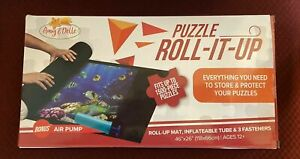 Puzzle-Roll It Up-Amy & Delle -Transport And Store Up To 1500 Pieces-New