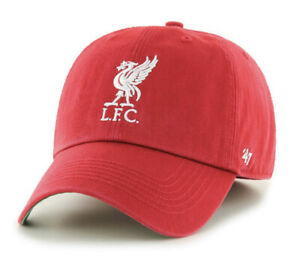 "EPL Liverpool FC Medium '47 Franchise ""Perfect Fit"" Red Hat Cap"