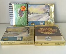 Lot Of 4 Unopened Boxes Of Christmas Cards 74 Total Seasons Greetings