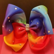 Large multi colored Hair Bow