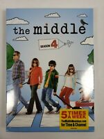 The Middle: Season 4 (DVD, 2014, 3-Disc Set) New, Sealed