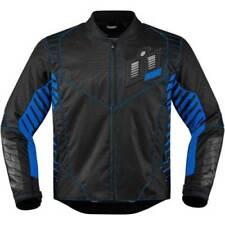 Blousons bleus textile pour motocyclette Homme