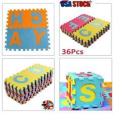 36x Alphabet Numbers Soft EVA Floor Play Mat Baby Room ABC Foam Puzzle Tile Game