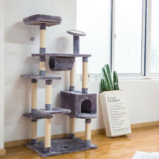 New listing Kinbor Cat Tree Condo Furniture Activity Tower Pet Kitty Play House