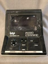 1982 Epoch Astro Command Electronic Handheld Arcade Game - Tested Working