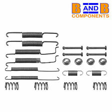 VW GOLF MK1 GTI CABRIOLET MK2 MK3 SCIROCCO BRAKE SHOE FITTING KIT & SPRING A38