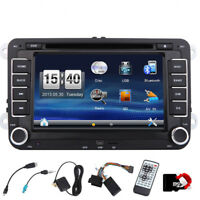 Doppel din Autoradio Bluetooth GPS Sat Nav DVD Für VW PASSAT GOLF 5 6 POLO Caddy