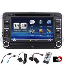 Doppel din Autoradio Bluetooth GPS Sat Nav DVD Für VW PASSAT GOLF 5 6 POLO Caddy