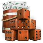 Dice Game Outdoor Lawn Party Play Giant Yardzee Yardkle Yard Part Activity 6 Set