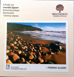 wentworth wooden jigsaw puzzle. 75 pieces. Porth Ceiriad. REDUCED
