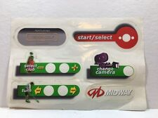 Vintage Midway Arcade Golf Skins  Decal, Stickers ,
