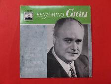 Benjamino GIGLI  Ave Maria Agnus Dei <<ca 1960 Vinyl  Single<<<neuwertig<<<<