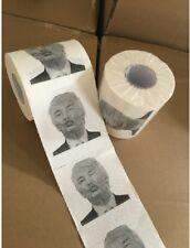 3 Rolls Donald Trump Funny Toilet Paper Roll Tissue Novelty Creativity Gag Gift