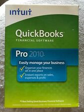 QuickBooks Pro 2010 - FINANCIAL SOFTWARE - EASILY MANAGE YOUR BUSINESS 1 PLACE