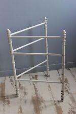 Ancien porte serviette - Sèche serviette - Bambou - Bois - Pliant - 2 Bras