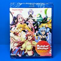 Monster Musume Everyday Life w/ Monster Girls Complete Anime Blu-ray UNCENSORED