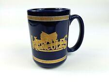 Vintage Hercules The Legendary Journeys Blue Oversize Coffee Mug 1997 MCA