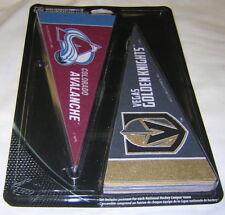 """NHL Teams 4"""" X 9"""" Mini Pennant Set - Complete Set of all 31 NHL Teams VEGAS"""