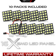 {BEST VALUE} 10PCS 6000K White 16-SMD LED Board Light Bulb Truck Dome Map Panels