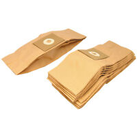 10 x Vacuum Cleaner Paper Dust Bags For Premiere Mini 56002 DMV175 DV160 MINI175