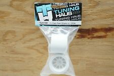 Tuning Haus F1 Foam Rear Wheels (pr.) White Foam & Shimizu F104 Rubber Formula 1