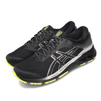 Asics Gel-Kayano 26 Lite-Show Black Silver Yellow Men Running Shoes 1011A686-001