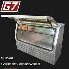 1200x530x820 Aluminium toolbox ute checker plate tool box truck storage 1258-2H1
