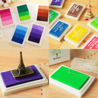 Craft Ink Pad for Paper Wood Fabric 17 Colors Available for Rubber Stamps