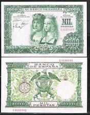 ESPAÑA  1000 PESETAS 1957 R. CATÓLICOS Pick 149   MBC+   VF+