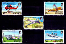 Alderney Aviones Comerciales Serie del año 1985 (Z-198)