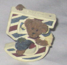 "Peeking Boyds Bear ""5"" Figurine Marked & Numbered"
