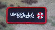 Resident Evil Umbrella Corporation Patch Hook Backing