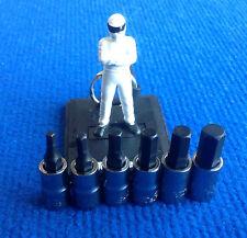 Blue Point soldby SnapOn 1/4 Dr HEX Allen Socket set 3mm 4mm 5mm 6mm 7mm 8mm NEW