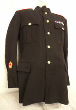 """THE ROYAL WELSH REGIMENT NO1 DRESS JACKET - CHEST: 40"""" - BRITISH MILITARY ISSUE"""