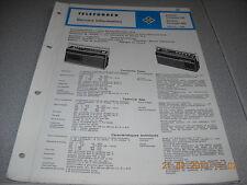 TELEFUNKEN Kofferradio partner compact 101 exclusiv 401 Service Manual
