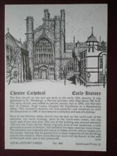 Cheshire Printed Collectable Social History Postcards