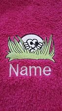 PERSONALISED Golf, Bowls, Swim, Gym Towel.. ideal give away's - stag parties