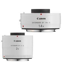 Canon Extender EF 2X III  & Canon Extender EF 1.4X III   PRO 2 Teleconverter Kit