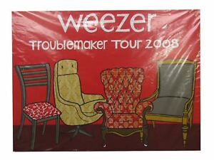 Weezer Troublemaker Tour 2008 Lithograph Litho Poster New Rare Hand Numbered
