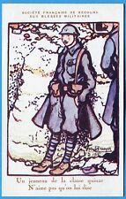 CPA Patriotique: Un jeuneau de la classe quinze / Guerre 14-18 / Bruyer