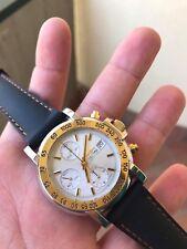 Vintage Watch Orologio Sector Golden Eagle Chronograph Valjoux 7750 Full Set For