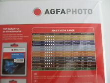 Agfa Photo Papel DIN A4 50 hojas Sheet / 210g Brillante AP21050A4