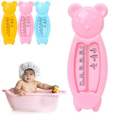 Baby Bath Floating Bear Water Sensor Thermometer Plastic FloatToy Tub Lovely