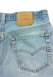 Vintage Levis 501 XX Button Fly Denim Jeans FITS 31x27 (Tag 33x30) Made in USA