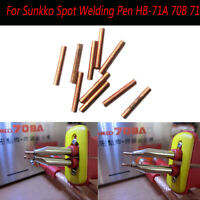 5Paar 1.5mm Schweißstifte Spot Welding Needles für Sunkko Spot Welder 709A 709AD