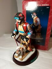 Emmett Kelly Signature Collection Flambro The Skier # 9619 Vintage 1995 Figure