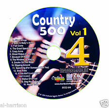 KARAOKE CHARTBUSTER CDG COUNTRY 500 VOL.1 DISC CB8532  DISC #4