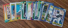 1990 Topps Los Angeles Dodgers Team Set with Traded (32 cards)