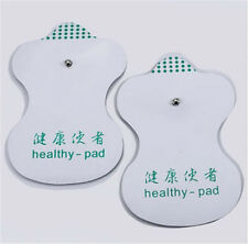 2PC Replacement Electrode Massage EMS Pads for Tens Unit Massager Machine
