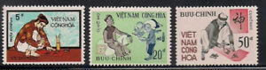 Vietnam-S.   1972   Sc # 425-27   MNH    OG   (1-127)